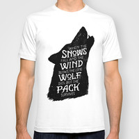 The Pack Survives T-shirt by WEAREYAWN
