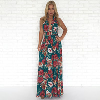 High Esteem Floral Maxi Dress