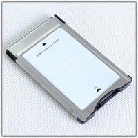 Genuine PCMCIA TO SD PC CARD ADAPTER Suport SDHC for Mercedes-Benz 6-7-82-3974 Support SDHC 32GB GLK SLK CLS E C Class