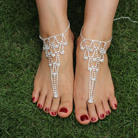 Diamond Anklets Anklet Bride Anklets Foot  11402