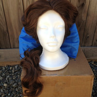 Belle Beauty & the Beast Town Princess Wig Screen Quality Custom Couture Styled