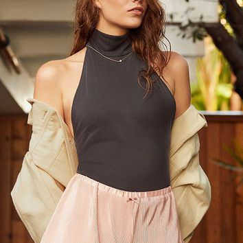 Out From Under Pretty Bird Plisse Short | Urban Outfitters