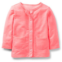 French Terry Bright Cardigan