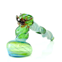 Hammer Bubbler Water pipe green 10