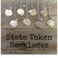 STATE TOKEN NECKLACE