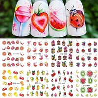 Water Transfer Nail Sticker Decals