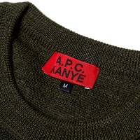 A.P.C. x Kanye Army Sweater
