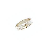 Love Letters Loyalty Sterling Silver Peal Stack Ring