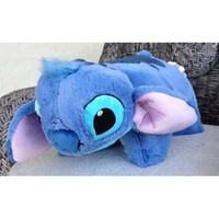 Disney Stitch Pillow Pal Pet Plush Doll - Disney Theme Park Authentic