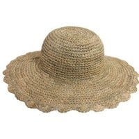 Tropical Trends Straw Hat