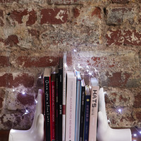 FOREVER 21 Uyesa Design Stop Bookends White One