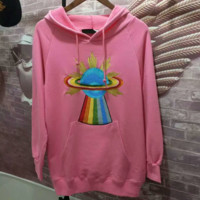 Gucci Women Fashion Embroider Long Sleeve Top Sweater Pullover Hoodie G-spring-CLFSGCJDZ