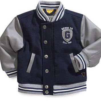 GUESS Baby Jacket, Baby Boys Prep Jacket - Kids Baby Boy (0-24 months) - Macy's