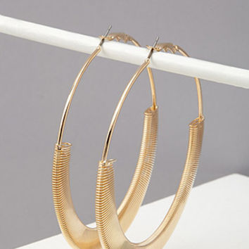 Coil-Wrapped Hoops