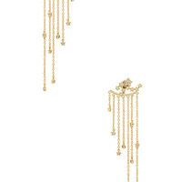 SHASHI Star Cluster Earrings in Yellow Gold | REVOLVE