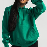 Champion Women's Pullover Hoodie in Beige, Teal, Purple, Yellow, Team Gold, White, Black, Blush
