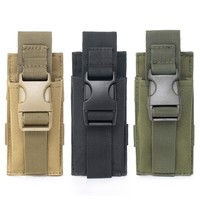 Military Tactical Pouches Hunting Rifle Pouch Waist Belt Bags Rifle Airsoft Knife Talkie Flashlight Ammo Camo Bags