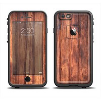 The Bright Stained Wooden Planks Apple iPhone 6 LifeProof Fre Case Skin Set