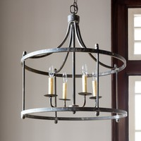 Savannah Iron Light Fixture, Large