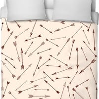 Arrows Around Duvet Cover