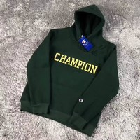 Champion Woman Men Fashion Hooded Top Sweater Pullover Hoodie