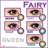 FAIRY Queen Series Japanese Circle Lenses Colored Contacts Cosmetic Color Circle Lens