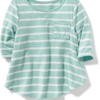 Striped Pocket Top for Baby | Old Navy