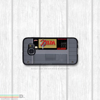 SNES, Super Nintendo Cartridge, Many Games to Choose From, Custom Phone Case for Galaxy S4, S5, S6
