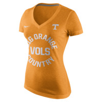 Nike College Tri Mid-V (Tennessee) Women's T-Shirt