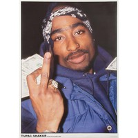 Tupac Import Poster