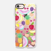 Fruit Punch Bold (transparent) iPhone 7 Case by Lisa Argyropoulos | Casetify