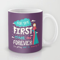 Frozen  For the First Time in Forever Mug by Risa Rodil