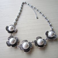 Retro, pearl short chain, exaggerated, joker necklace, special, unique gift,best gift for yourself or girlfriend