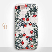 Floral Lace Phone Case Case For iPhone 8 iPhone 8 Plus - iPhone X - iPhone 7 Plus - iPhone 6 - iPhone 6S - iPhone SE - Samsung S8 iPhone 5