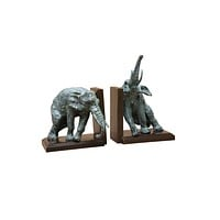 Lazy Elephant Bookends (set of 2) | Eichholtz