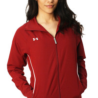 Under Armour Women's Pregame Full Zip Loose Fit Jacket