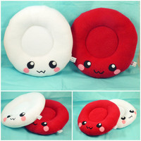 Blood cells - Red and White - plush toys - pillows