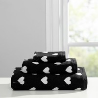 The Emily & Meritt Heart Towels