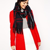 New Look   New Look Classic Check Scarf at ASOS