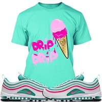Air Max 97 South Beach Sneaker Tees Shirts - ICE CREAM