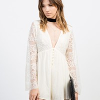 Victorian Lacey Romper