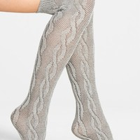 Nordstrom Over the Knee Cable Socks | Nordstrom