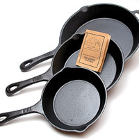 Old Mountain Skillet 3 Piece