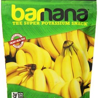 Barnana Original Chewy Banana Bites 3.5 Oz Pouches - Pack of 3