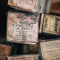 Music Photography, Rustic Home Decor, Foxtrot Dance, Old Song Title, Music Art Print, Player Piano Rolls | 'Everybody Calls Me Honey'