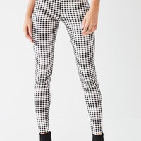 I.AM.GIA Miller Gingham Skinny Zipper Pant | Urban Outfitters