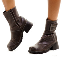 Vintage 90's Safe Keeping Chunky Boots - US 7.5
