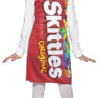 Rasta Imposta Skittles Tank Dress, Red, Teen 13-16