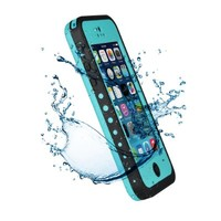 VicTec Waterproof Phone Case Cover For Apple Iphone 5C Shock-Absorbing Pumber Dirtproof Light Blue