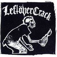 Leftover Crack Cloth Patch Black